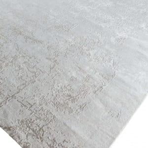 Rug# 31186, Jaipur designer rug, Abstract modern with 100% Hand spun NZ wool pile,size 250x170 cm ESK-411WhiteFlax (4)