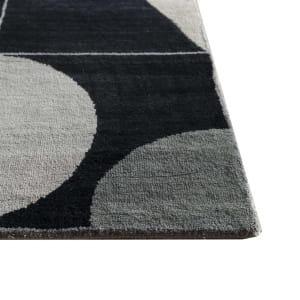 Rug# 31193, Jaipur modern, ABC designer rug, 100% NZ wool and bamboo silk pile, size 300x250 cm ESKN-1002IvoryNatural Slate (3)